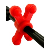 BowJax SlimJax Guide Rod Dampener, Red