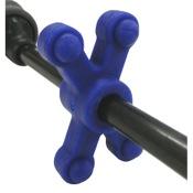 BowJax SlimJax Guide Rod Dampener, Blue