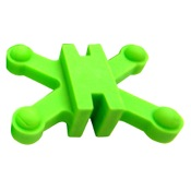 BowJax Revelation Split Limb Dampeners - 11/16, 4/pk., Green, Hoyt