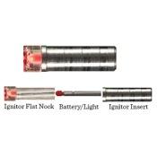 Ignitor Lighted Crossbow Nocks, .300, 3/pk., Red, Flat Nock