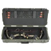 """SKB i Series Parallel Limb Bow Case - Mil-Spec, 35""""x14""""x5"""", Olive"""