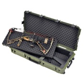 "SKB i Series Parallel Limb Double Bow/Rifle Case - Mil-Spec, 40""x16""x5"", Olive"