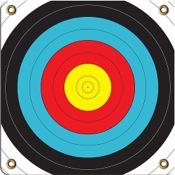"""Arrowmat Foam Rubber Target Face - Range-Pro 60, 17""""x17"""""""