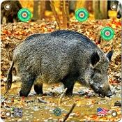 """Arrowmat Foam Rubber Target Face - Hog, 17""""x17"""""""