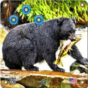 "Arrowmat Foam Rubber Target Face - Black Bear, 17""x17"""