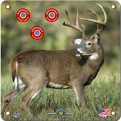 "Arrowmat Foam Rubber Target Face - XL Big Buck, 34""x34"""