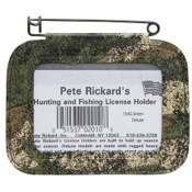 Rickard?s/Scotch License Holders, Camo, Single