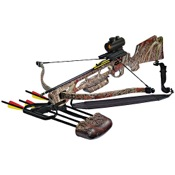 Arrow Precision Inferno Fury II Recurve Crossbow Package, 175lbs, Camo, w/3 dot Red Dot