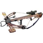 Arrow Precision Inferno Blaze II Crossbow Package, 150lbs, Camo, w/4x32 Multi-Reticle Illum. Scope