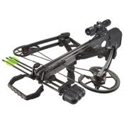 Barnett Vengence CRT Package, 140lbs, Black, w/3x32 Scope