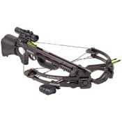 Barnett Ghost 410 CRT Crossbow Package, 185lbs, Carbon, w/3x32 Illuminated Scope