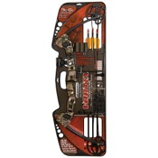 "Barnett Vortex Youth Bow Package, 21-27"" Draw Length, 45lbs, Camo"