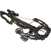 Barnett Razr CRT Crossbow Package, 185lbs, Black, w/Prem. Illum. Scope