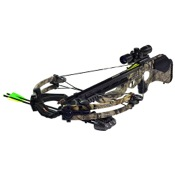 Barnett Ghost 410 CRT Crossbow Package, 185lbs, TreeStand, w/3x32 Illuminated Scope