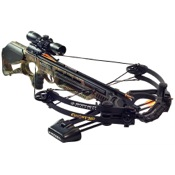 Barnett Ghost 360 CRT Crossbow Package, 165lbs, HiDef, w/3x32 Illuminated Scope