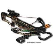 Barnett Raptor FX Crossbow Package, 150lbs, HiDef, w/Red Dot Sight