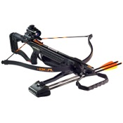 Barnett BCR Recurve Crossbow Package, 150lbs, Black, w/Red Dot Sight