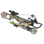 Parker CenterFire Crossbow Package, 165lbs., Vista, w/Illum Multi-Reticle Scope