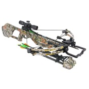 Parker CenterFire Crossbow Package, 165lbs., Vista, w/PinPoint Scope