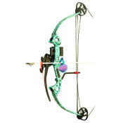 "PSE Discovery Bowfishing Pkg, to 30"" Draw Length, 40lbs, H20 XL, RH"