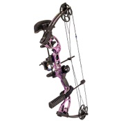 "Quest Radical Package, 17.5""-30"" Draw Length, 40lbs, AP Purple, LEFT HAND"