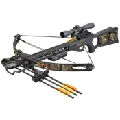 SA Sports Ambush Crossbow Package, 150#, G1, w/Multi-Reticle 4X Scope