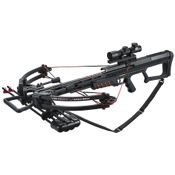 Velocity Armageddon Crossbow Pkg, 175lbs, Black, w/4x32 R/G Dot Scope
