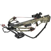Velocity Defiant Crossbow Pkg, 150lbs, APX, w/4x32 R/G Ret. Scope