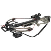 Velocity Raven Crossbow Pkg, 175lbs, APX, w/4x32 R/G Ret. Scope