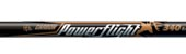 Easton PowerFlight Black Arrows - 400 Spine