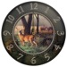 Reflective Art 12in Wall Clock - End of the Harvest, 12""