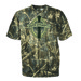 Club Red Duck Dynasty Oval Logo T-Shirt, Md, Camo, S/S