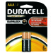 Duracell Coppertop Alkaline Battery - AAA, 2/pk.