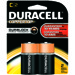 Duracell Coppertop Alkaline Battery - C, 2/pk.