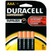 Duracell Coppertop Alkaline Battery - AAA, 4/pk.