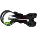 "Allen Guru Bow Sight, Black, 4 Pin .029"", RH/LH"